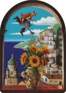 7 - 'O vase